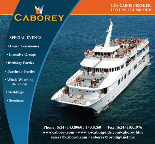 Cabo Rey Ads Proofs Los Cabos Visitor S Guide Issue